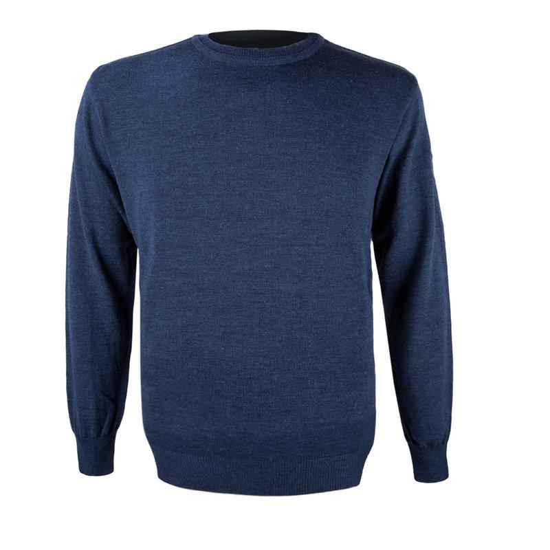 Kama Urban Sweater van 100% merino wol navy 4101