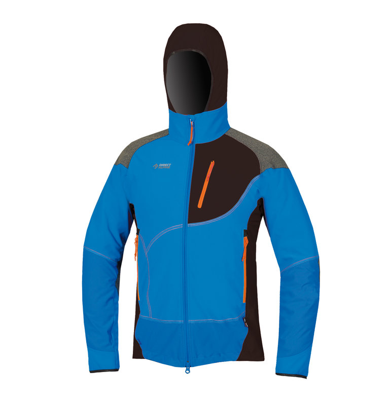 Direct Alpine Jorasses softshell Jacket heren blauw