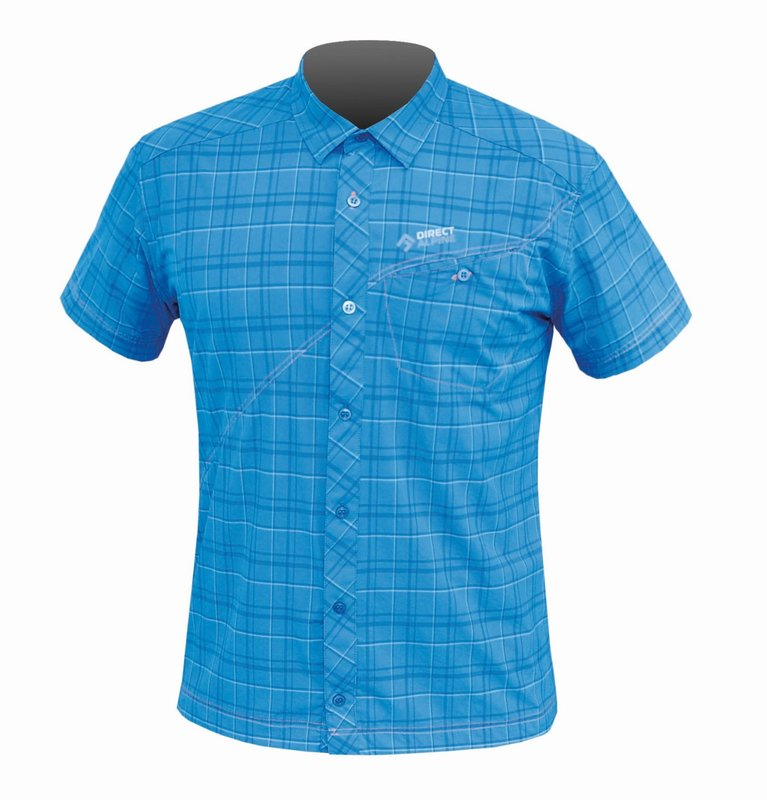 Direct Alpine Ray shirt korte mouw blauw heren