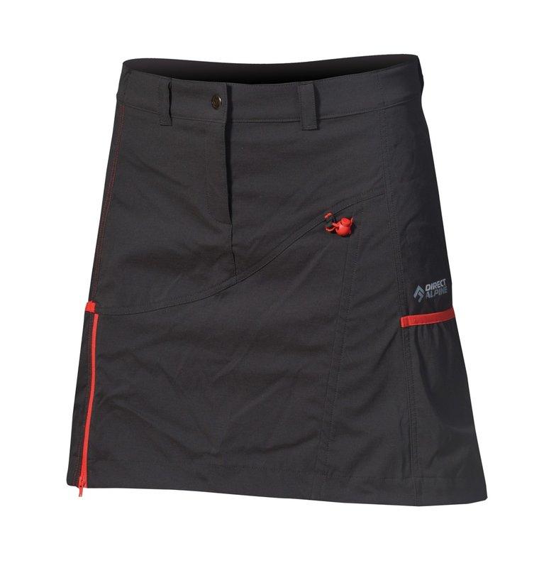 Direct Alpine Jasmin rokje zwart-rood