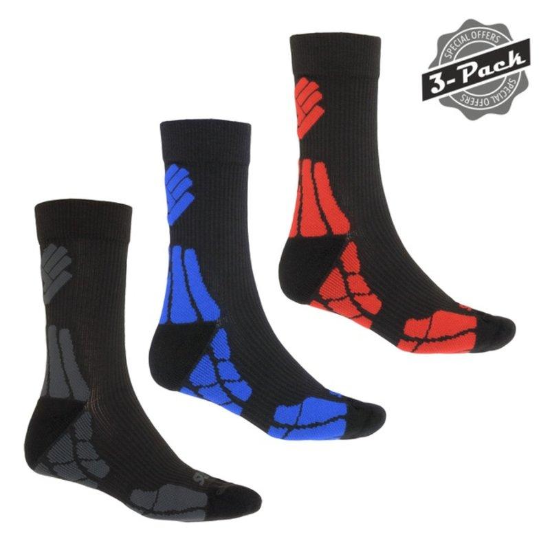 Sensor Hiking Merinowol sokken 3-pack
