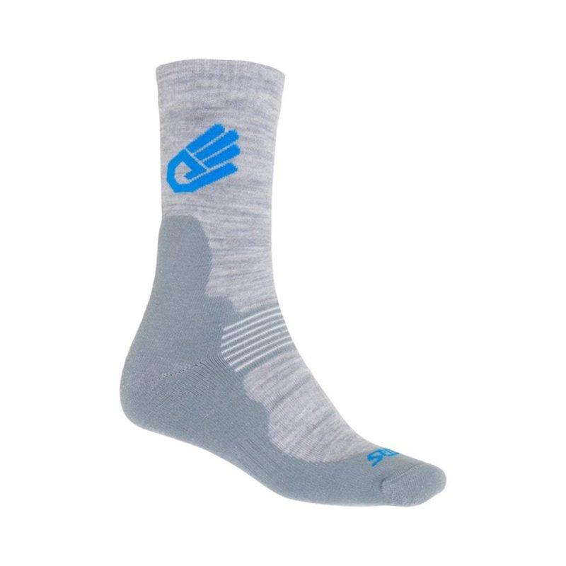 Sensor Expedition Merinowol sokken grijs