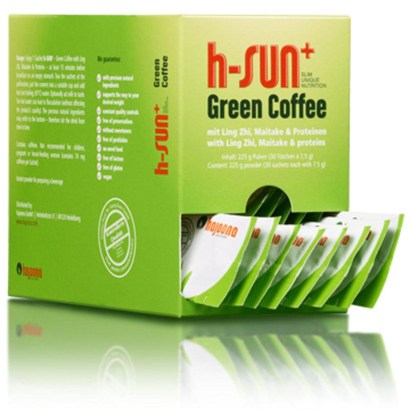 Hajoona h-SUN+ Groene koffie