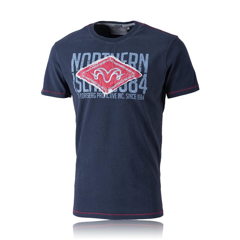 Carl Torsberg Ramhead T-Shirt navy